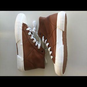 NIB Ralph Lauren January-SK High-Top Sneakers